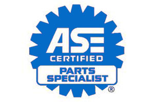 ase certified parts specialist